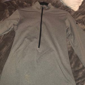 Nike fleece running jacket